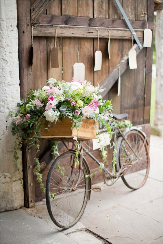 Feature Image - Bike with flowers