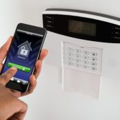 home insurance security alarm