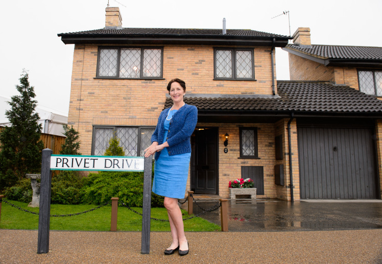 Four Privet Drive Harry Potter house