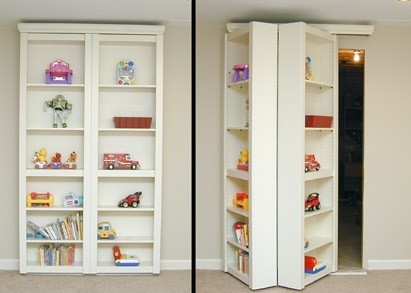 secret door bookcase