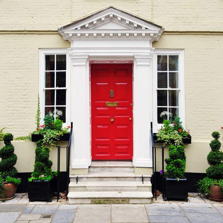 house-appealing-red-door