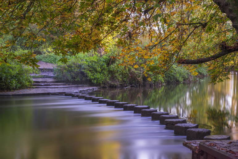 the stepping stones makes dorking the best countryside near london to visit